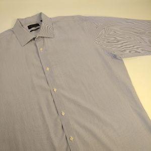 Bloomingdale's Men's Dress Shirt - Size 17.5 34/35